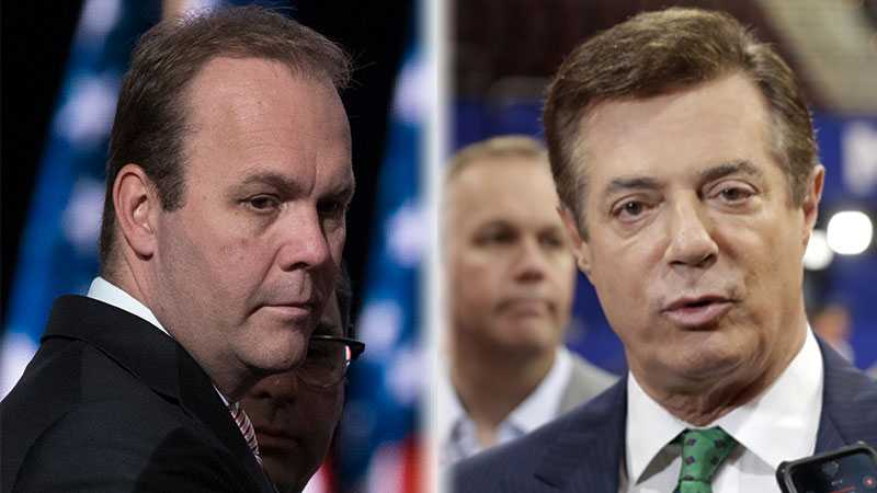 Rick Gates and Paul Manafort