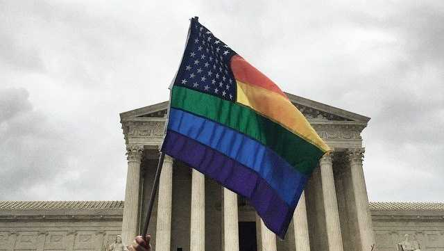 In a landmark opinion, the Supreme Court ruled Friday that states cannot ban same-sex marriage, establishing a new civil right and handing gay rights advocates a victory that until very recently would have seemed unthinkable.