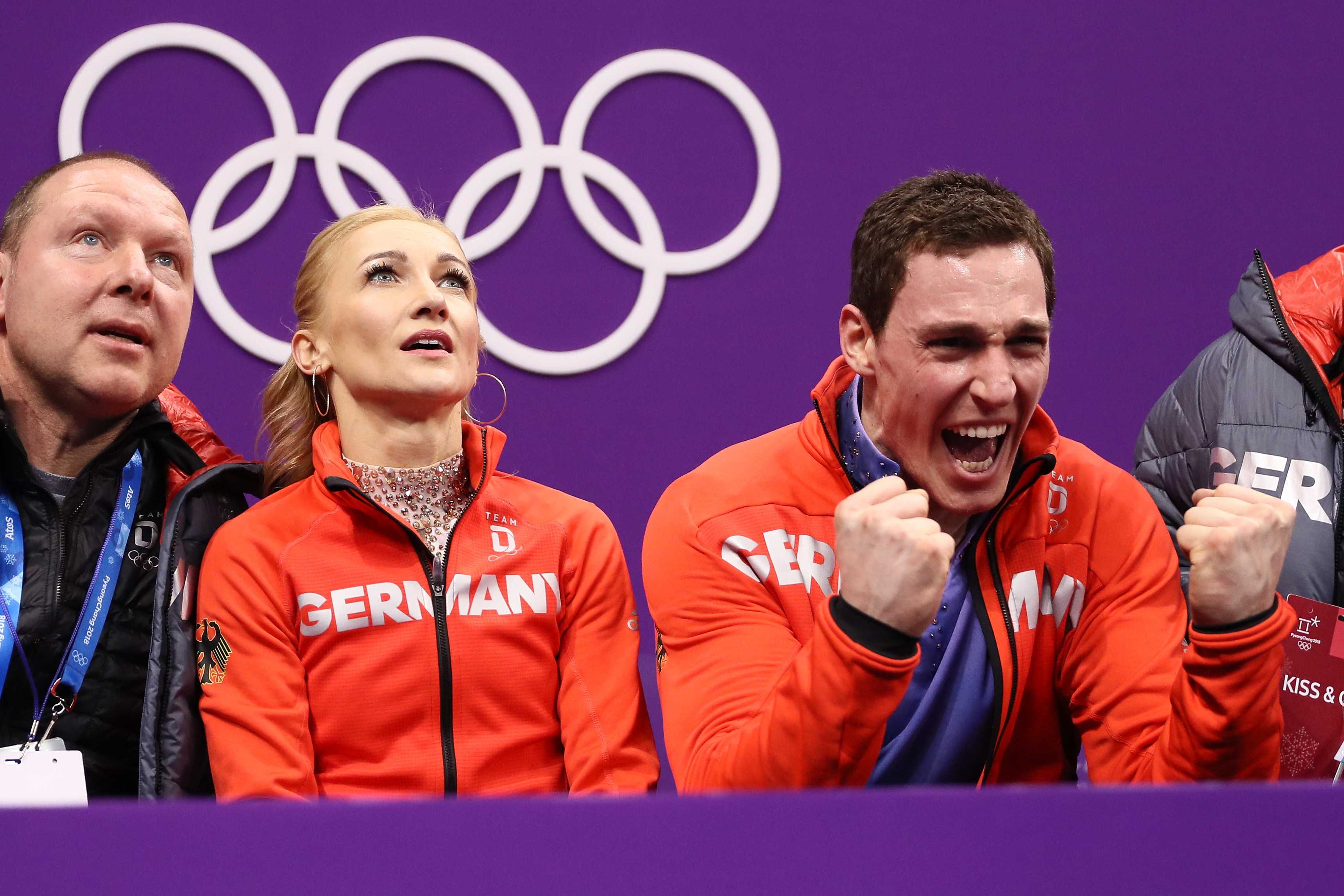 The Best Gold Medal Reaction of PyeongChang So Far Is Aliona Savchenko's
