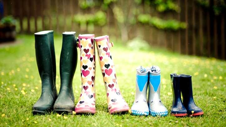 Family Rain Boots