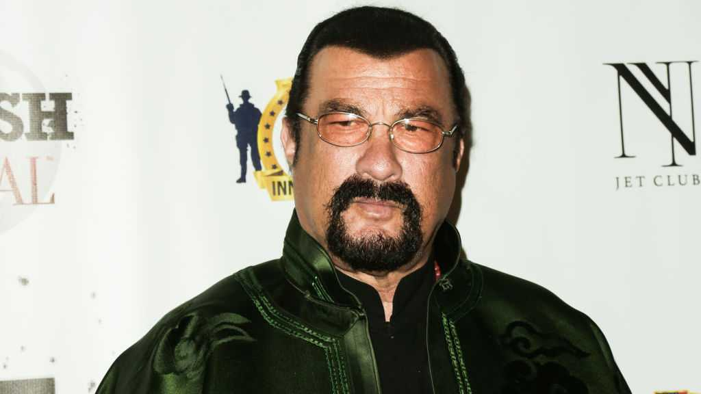 Actor Steven Seagal shown Feb. 23, 2017, in Los Angeles.