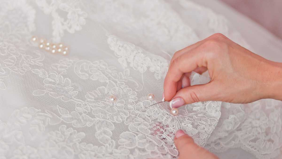 She is an angel now\': Woman creates infant burial gowns from wedding ...