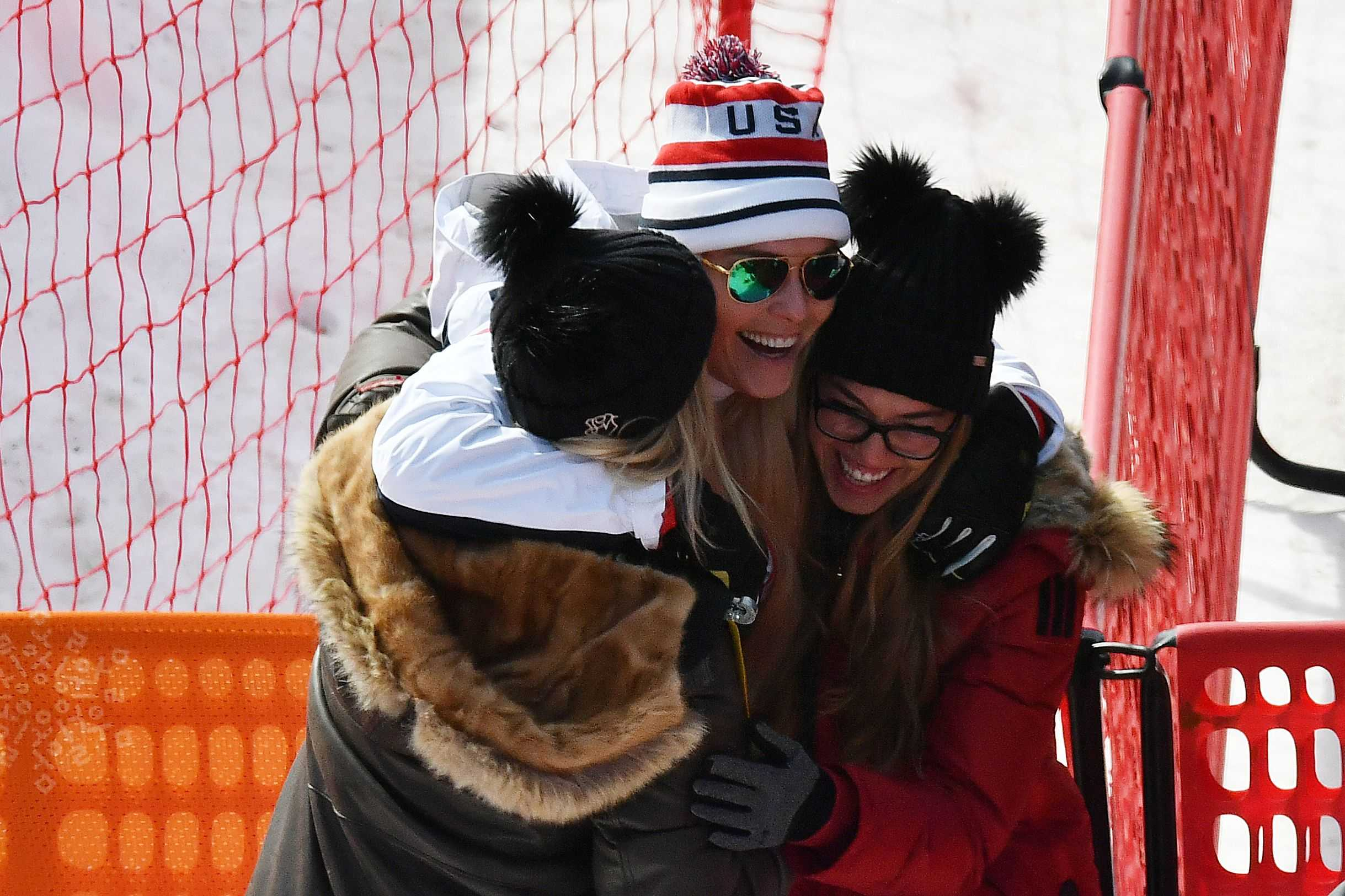 Lindsey Vonn flooded with emotion after final downhill ski in Olympics