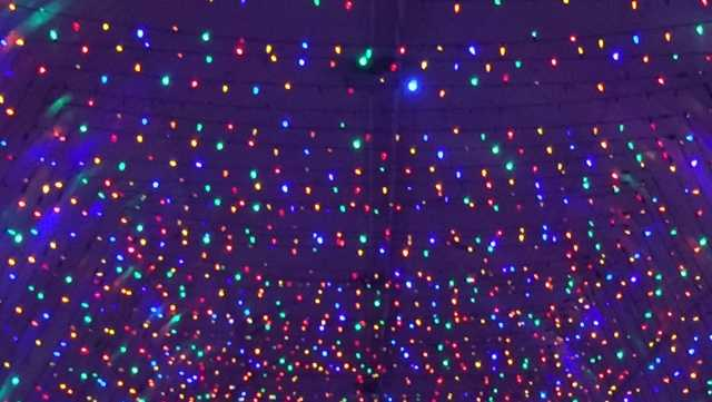 More than 2 million christmas lights glitter at new for New hampshire motor speedway christmas lights