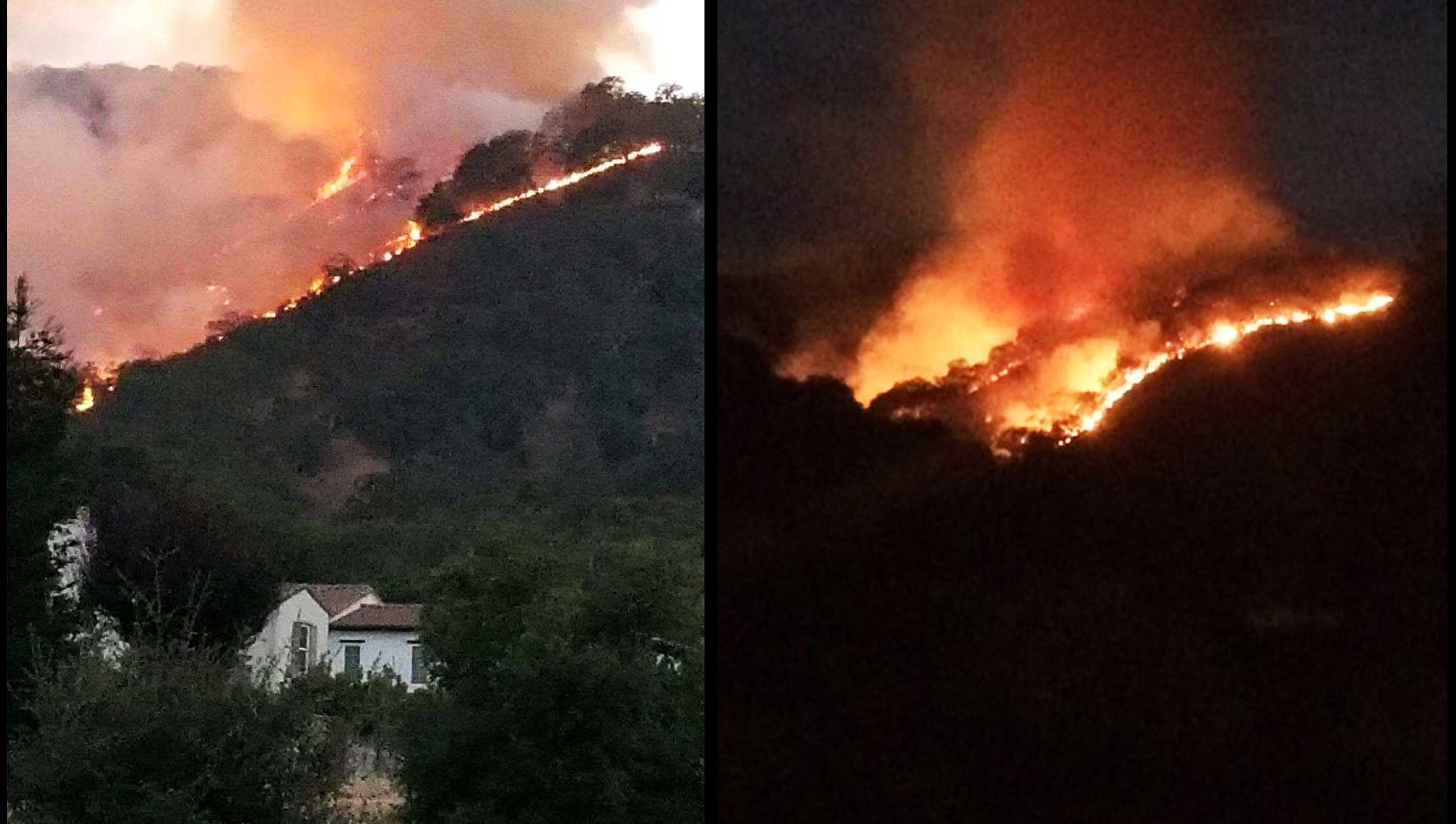 Gilroy wildfire