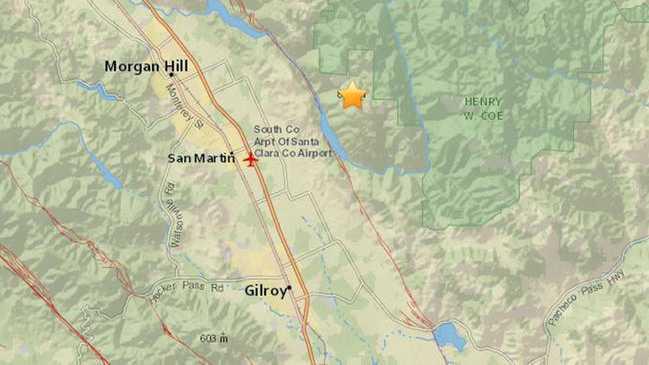 Gilroy quake