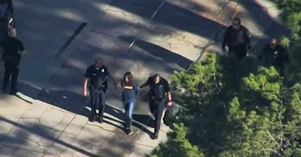 Shooting at school in Westlake District; 2 shot, 1 in custody