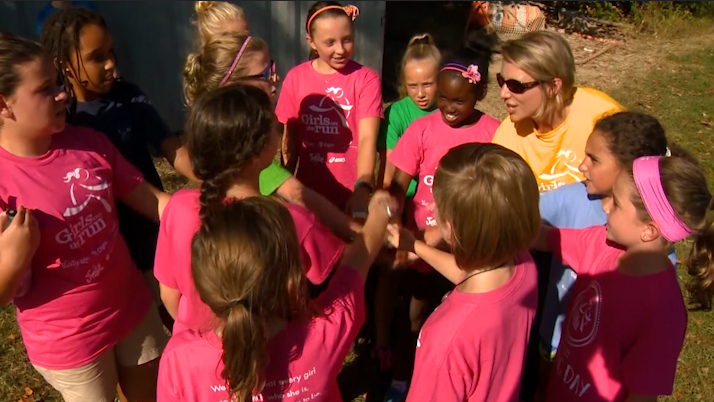 'Girls on the Run' teaches young ladies how to be healthy, confident