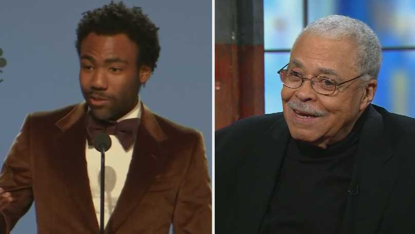 Donald Glover and James Earl Jones