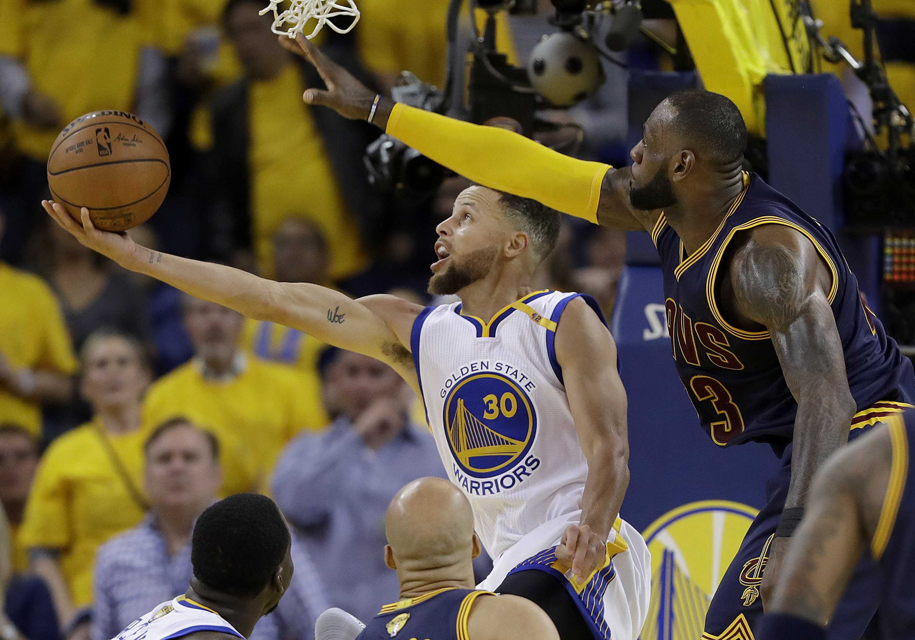 Golden State Warriors win NBA championship against ...