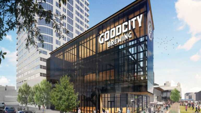 Good City Brewing opening taproom, production facility at Entertainment Block