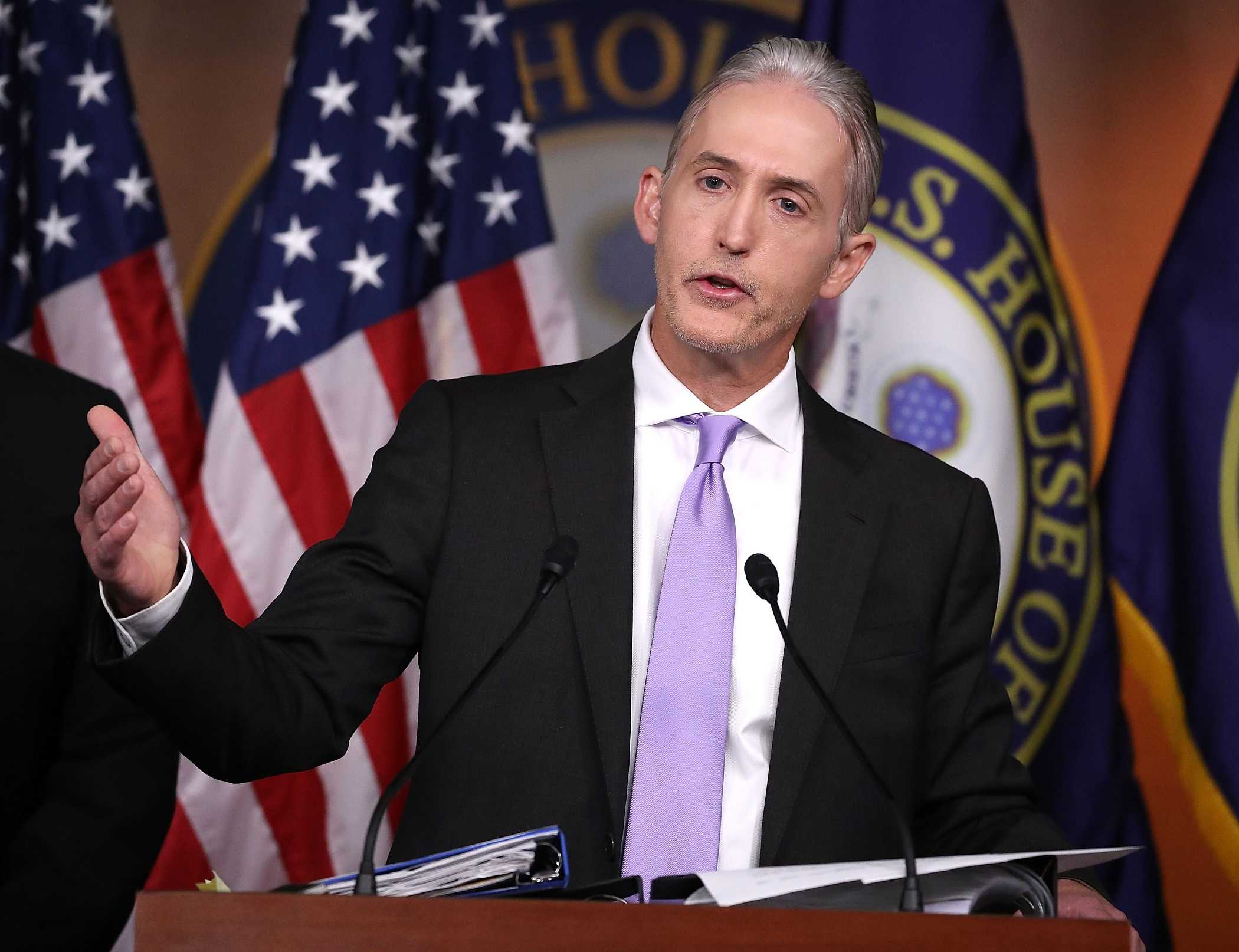 Rep. Trey Gowdy WON'T SEEK Re-Election