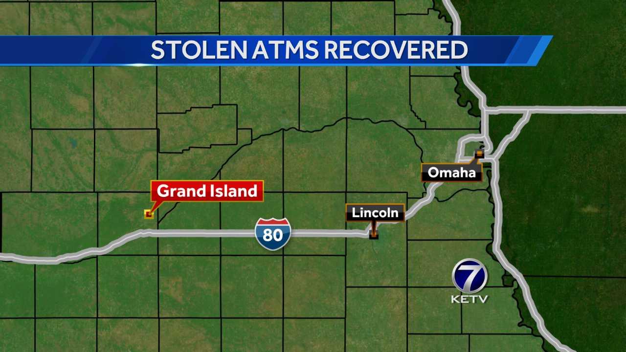 Grand Island Stolen ATMs