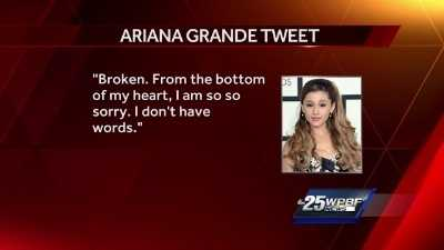 News of Ariana Grande concert tragedy stuns hometown