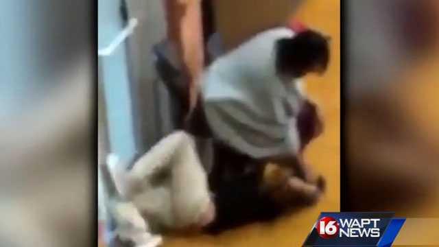 Greenville teacher video
