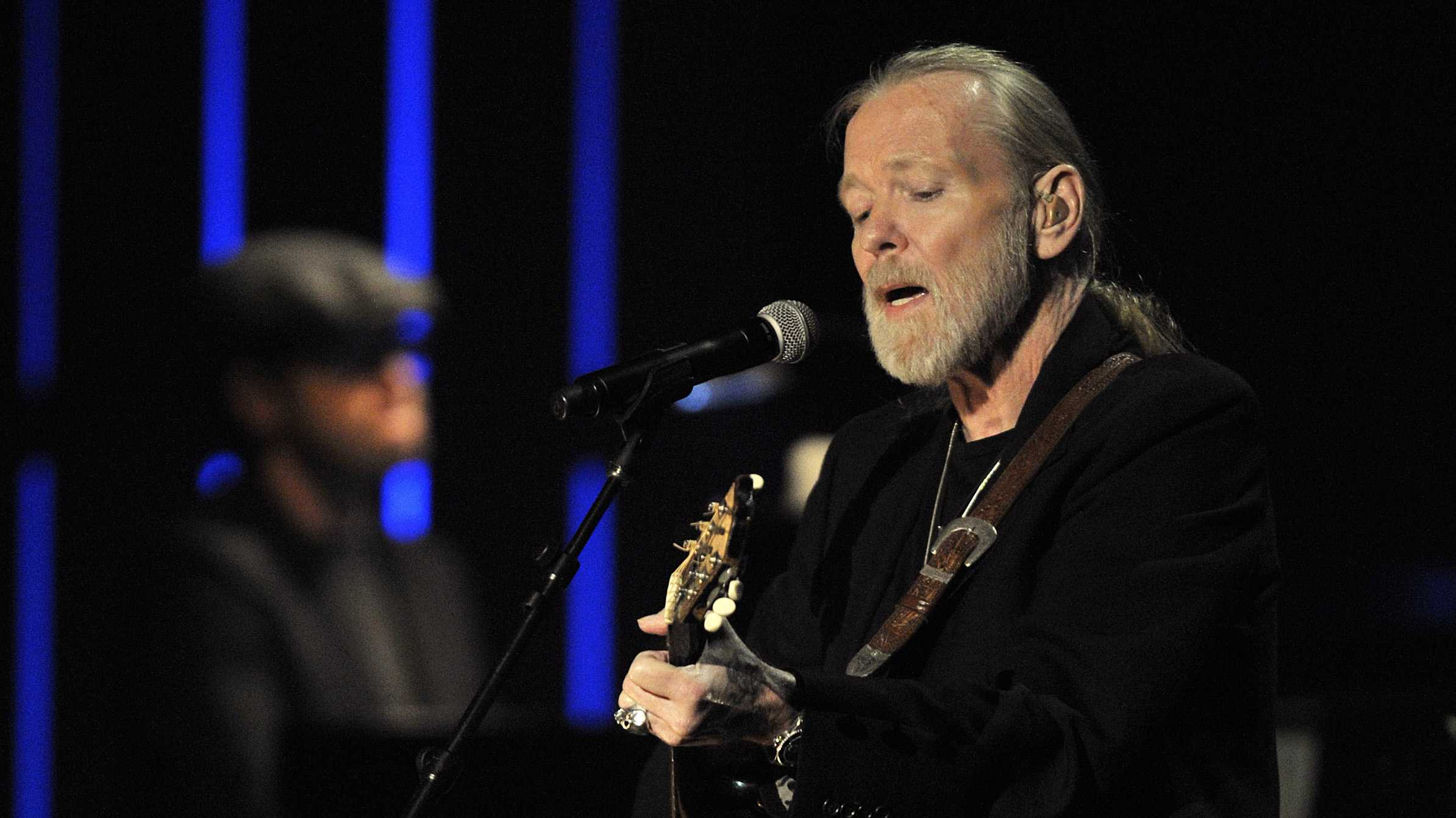 This Oct. 13, 2011, file photo shows Greg Allman performing at the Americana Music Association awards show in Nashville, Tenn.