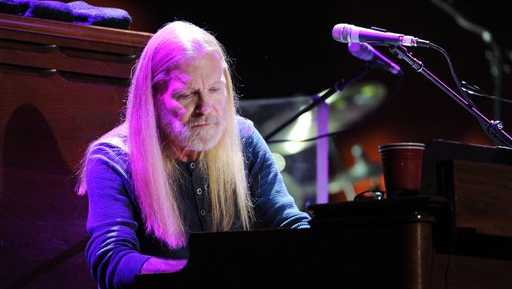 Musician Gregg Allman of The Allman Brothers band performs at Eric Clapton's Crossroads Guitar Festival 2013 at Madison Square Garden on Friday April 12, 2013 in New York.