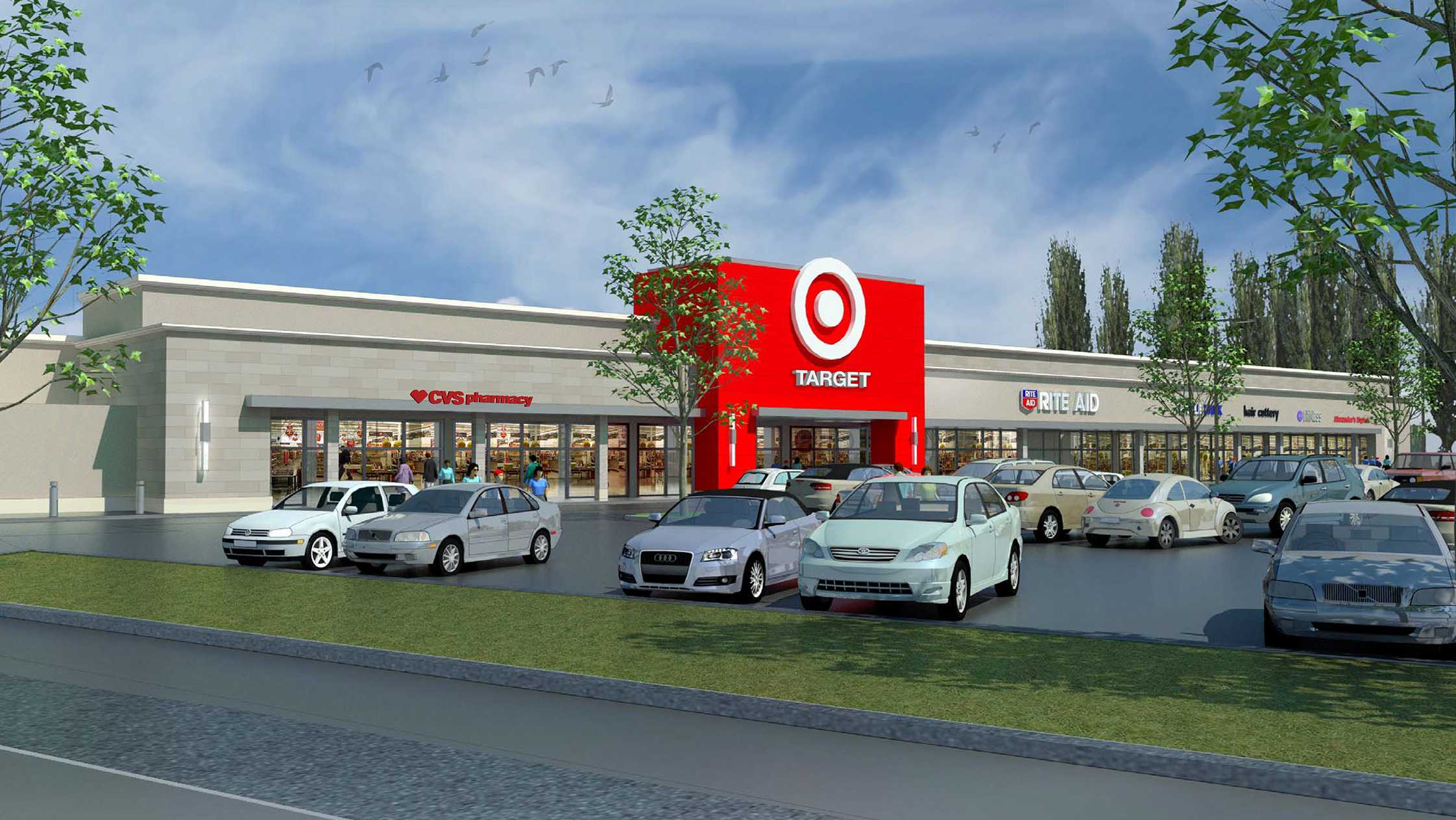 Target will replace Stop & Shop at Medford Plaza in Medford in March 2018.