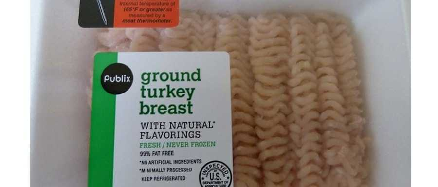 Ground turkey recall