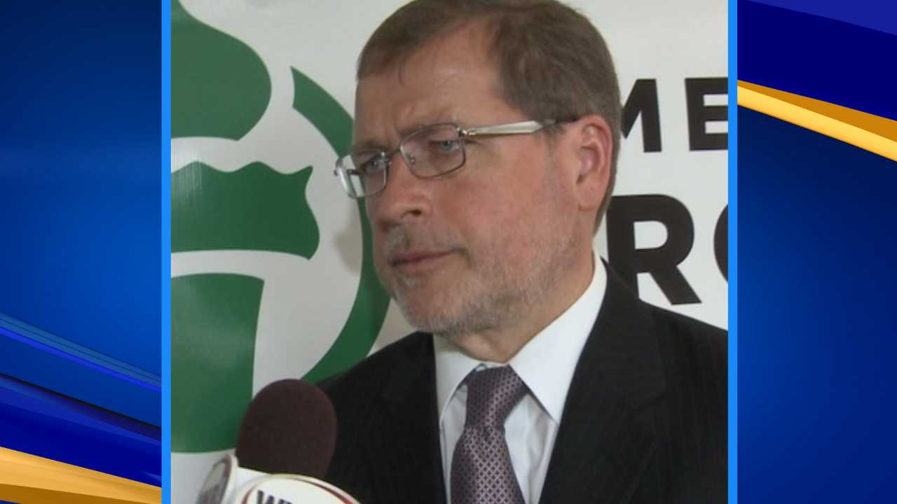 Americans for Tax Reform founder Grover Norquist speaks to WMUR in Manchester Wednesday, July 12.