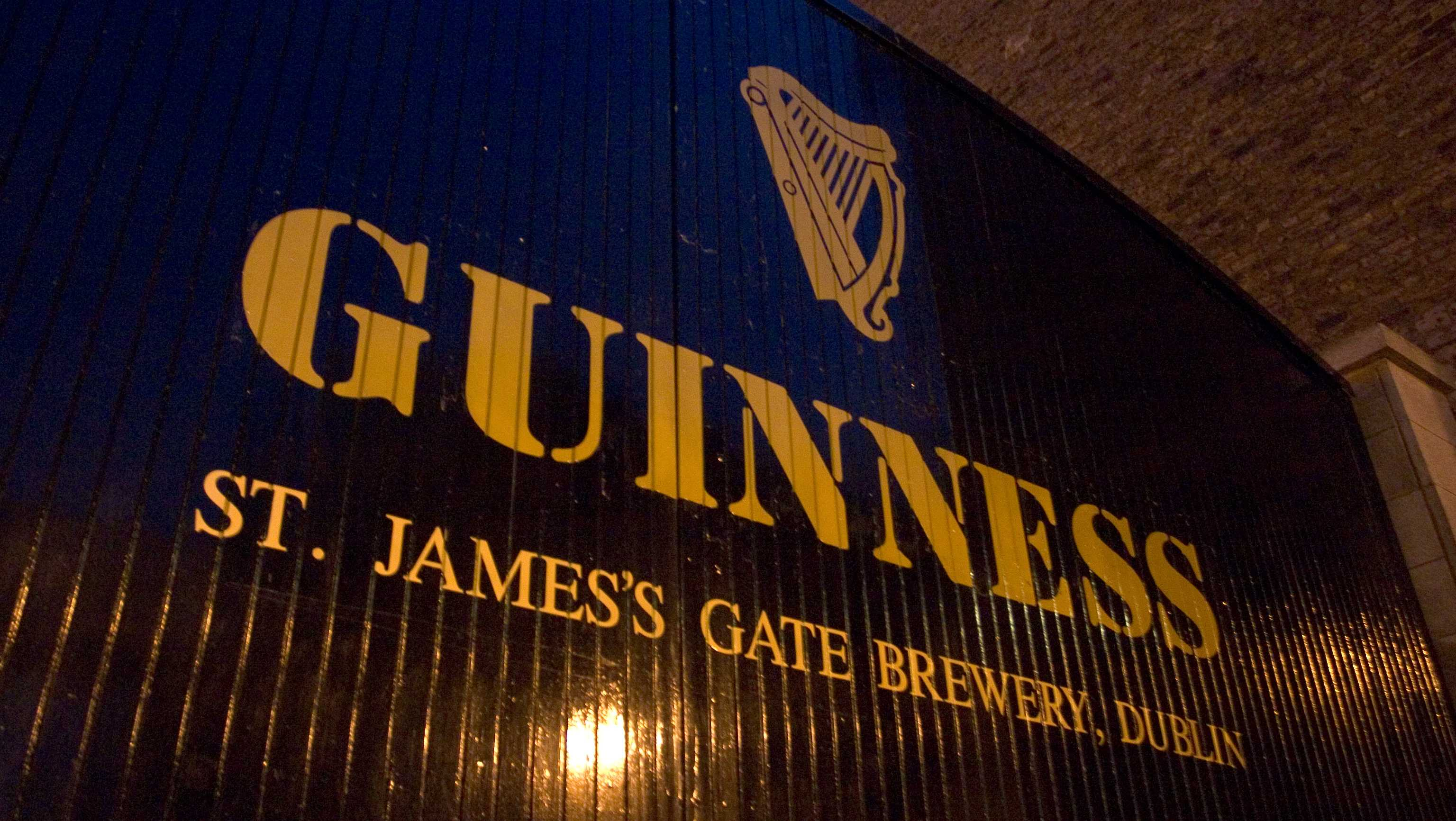 Guinness Brewery in Dublin