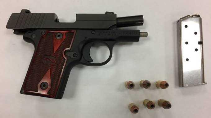 gun found at BWI-Marshall