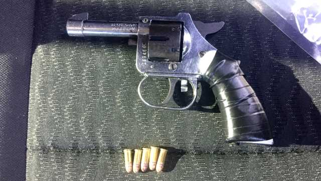 gun recovered from Sean McNair