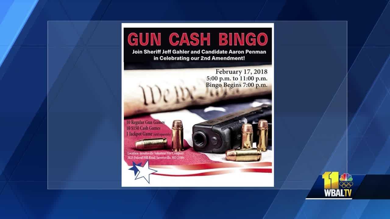 Candidate's gun/cash bingo event draws ire among some