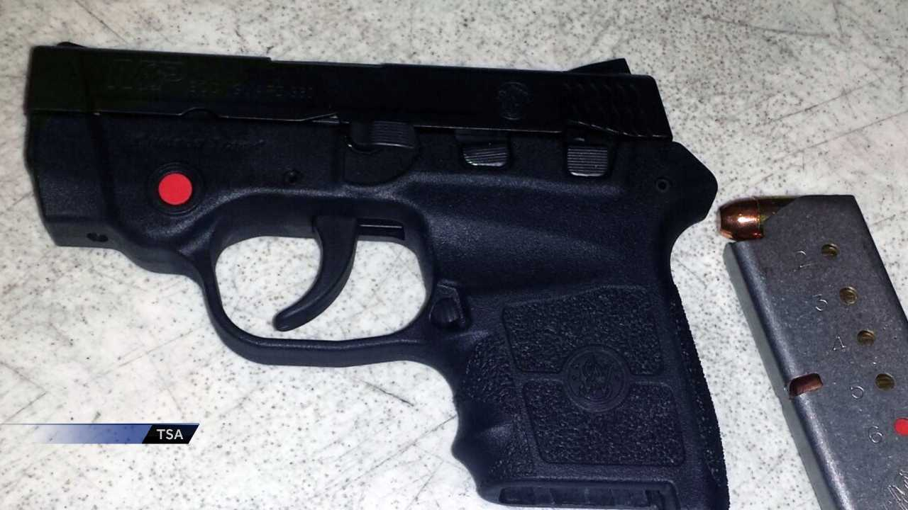 Loaded gun found at Birmingham airport security checkpoint