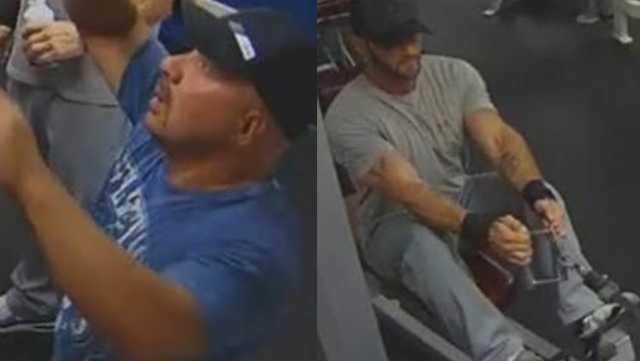 California Family Fitness gym thiefs