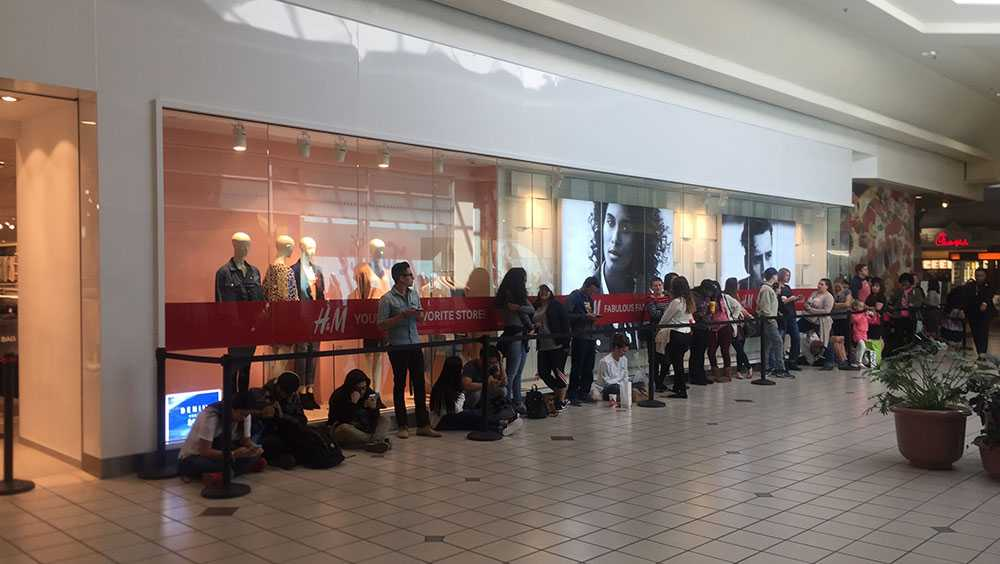 H&M opens in Spartanburg