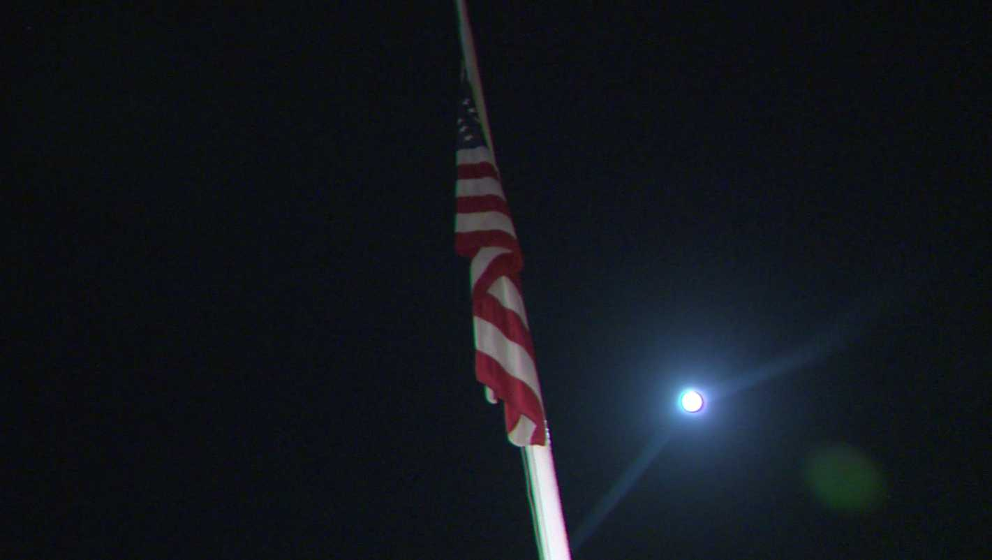 Capitol flag at half-staff