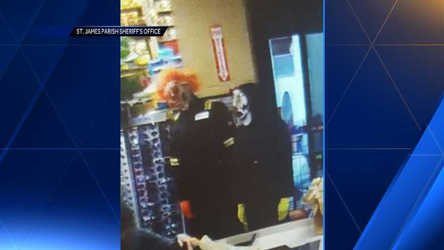 Creepy Clowns in St. James Parish