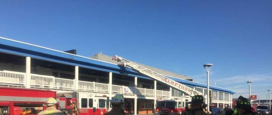 Hampton Beach fire