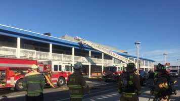 Hampton Beach fire