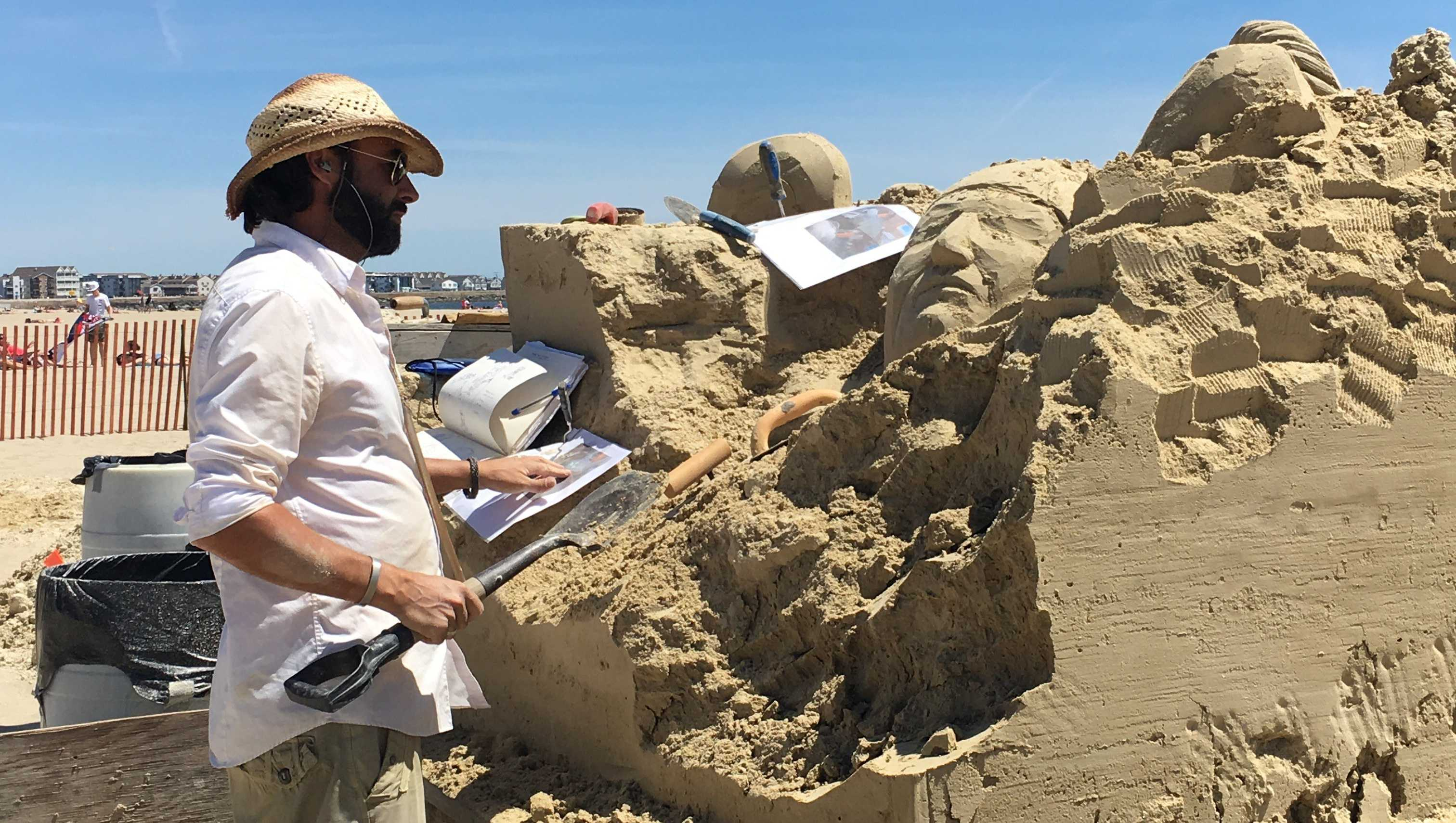 Hampton Beach Master Sand Sculpting Classic