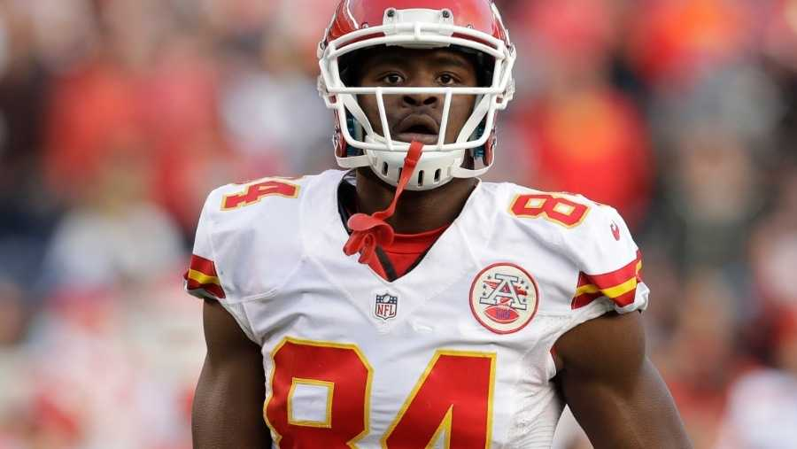 Kansas City Chiefs tight end Demetrius Harris
