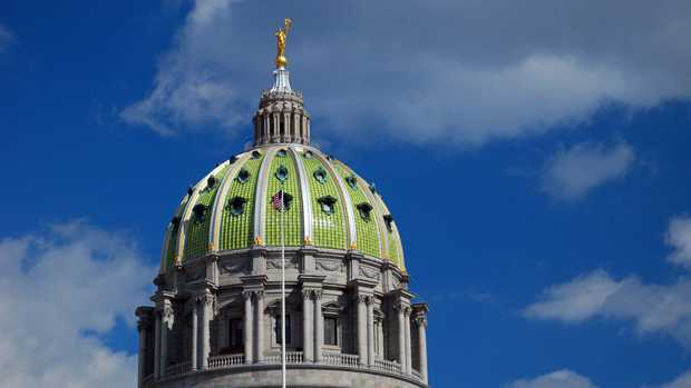 Harrisburg capitol dome