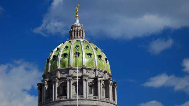 Harrisburg capitol dome