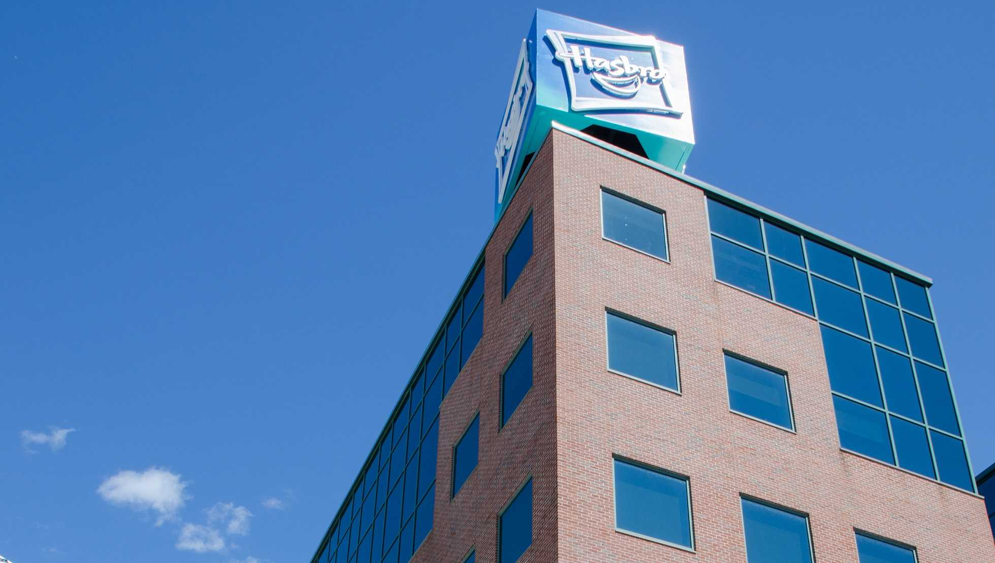Hasbro headquarters in Providence, Rhode Island.