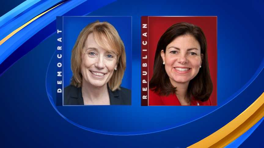 Former Sen. Kelly Ayotte accompanied U.S. Supreme Court to a meeting with Sen. Maggie Hassan on Capitol Hill on Monday.