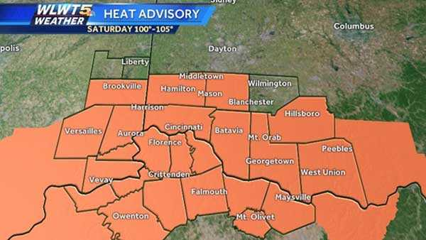 Have outdoor plans? Heat advisory extended into weekend