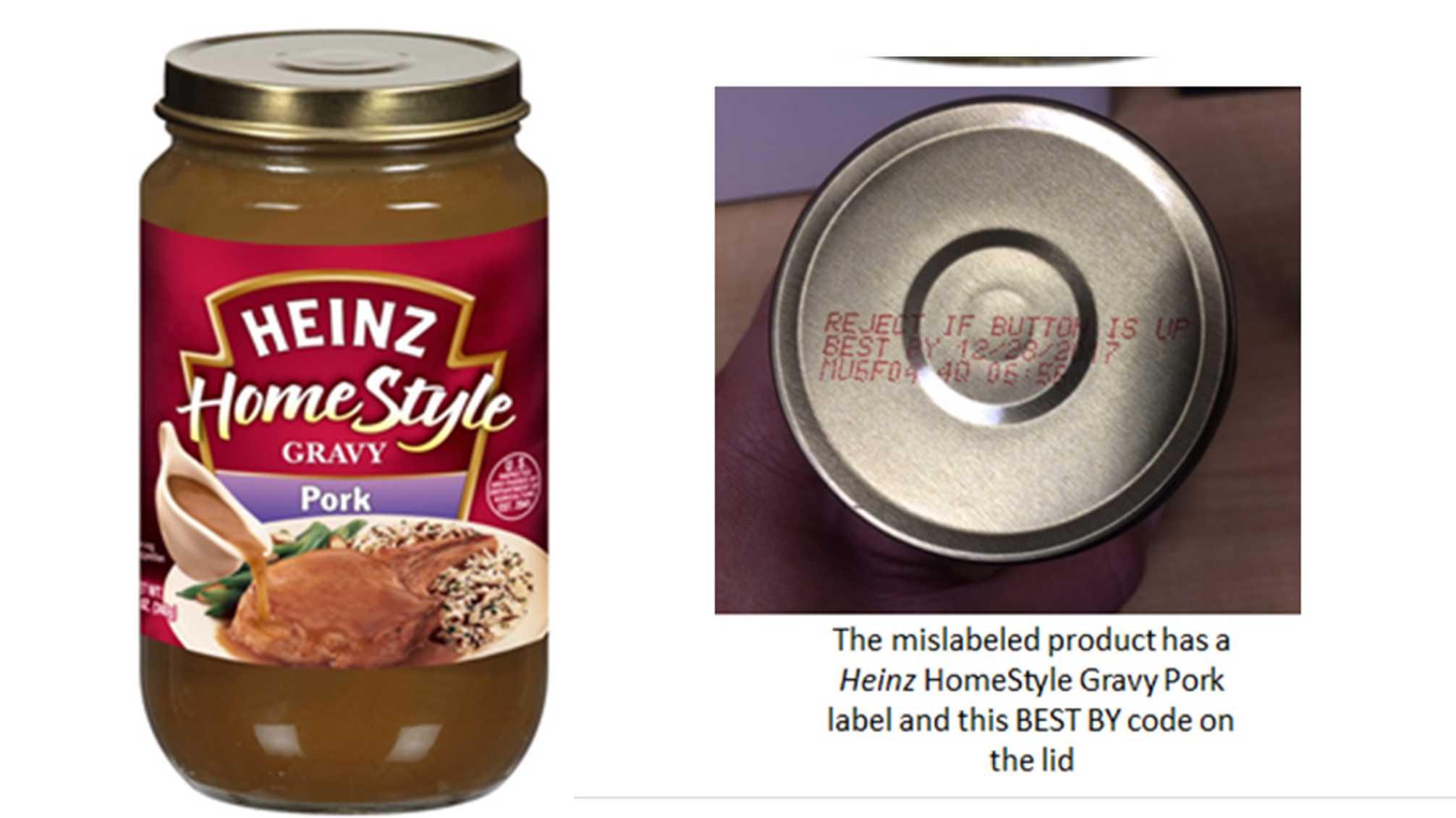 Heinz recalls jars of gravy
