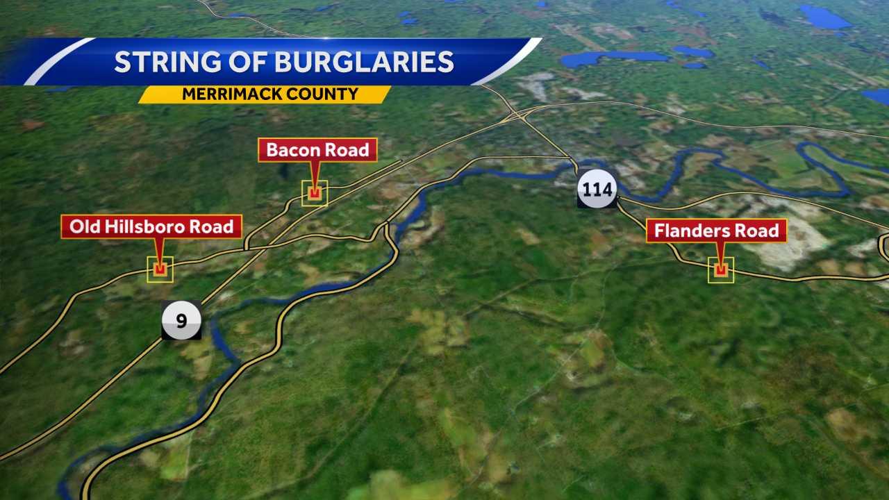 Four burglaries reported since Nov. 28
