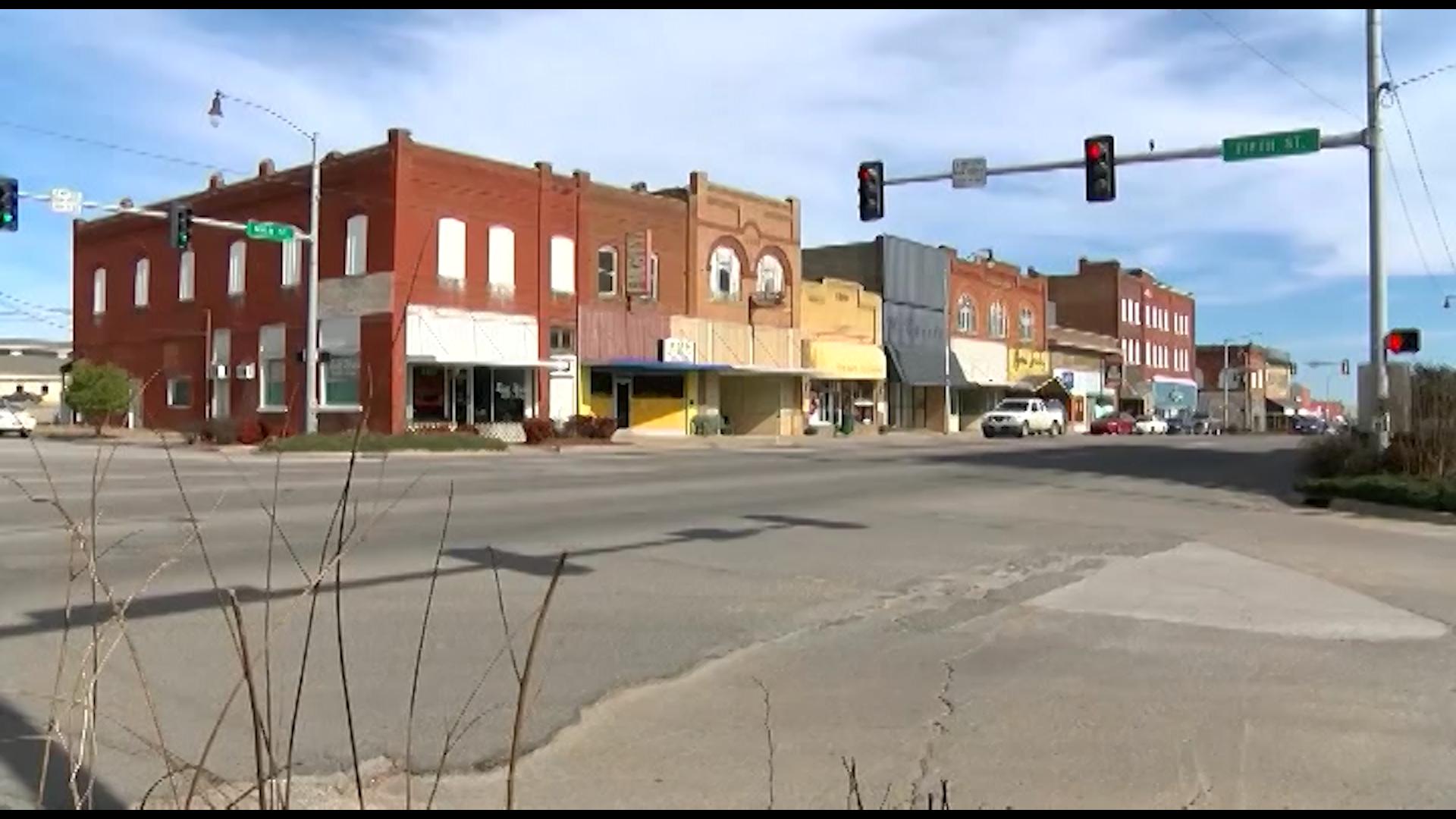 Downtown Henryetta, Oklahoma