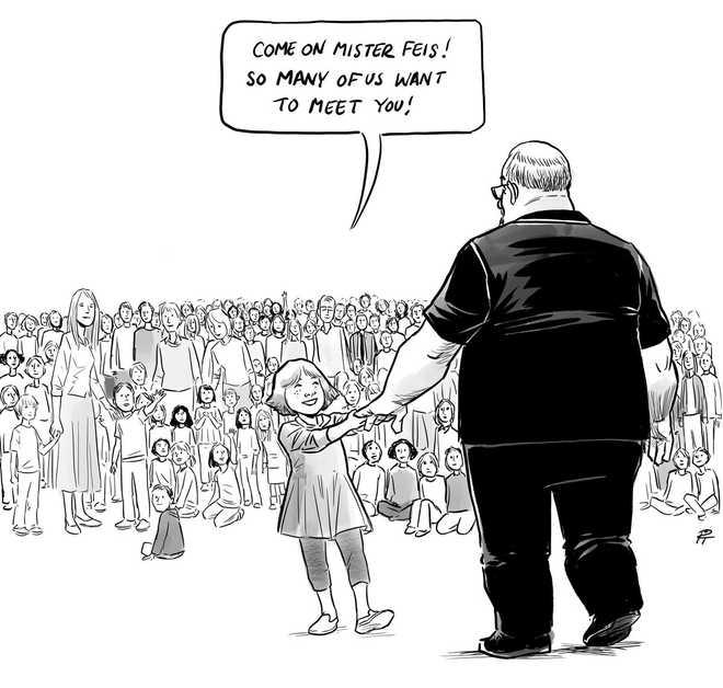 Heros welcome cartoon captures school shootings impact herox27sx20welcome altavistaventures Gallery