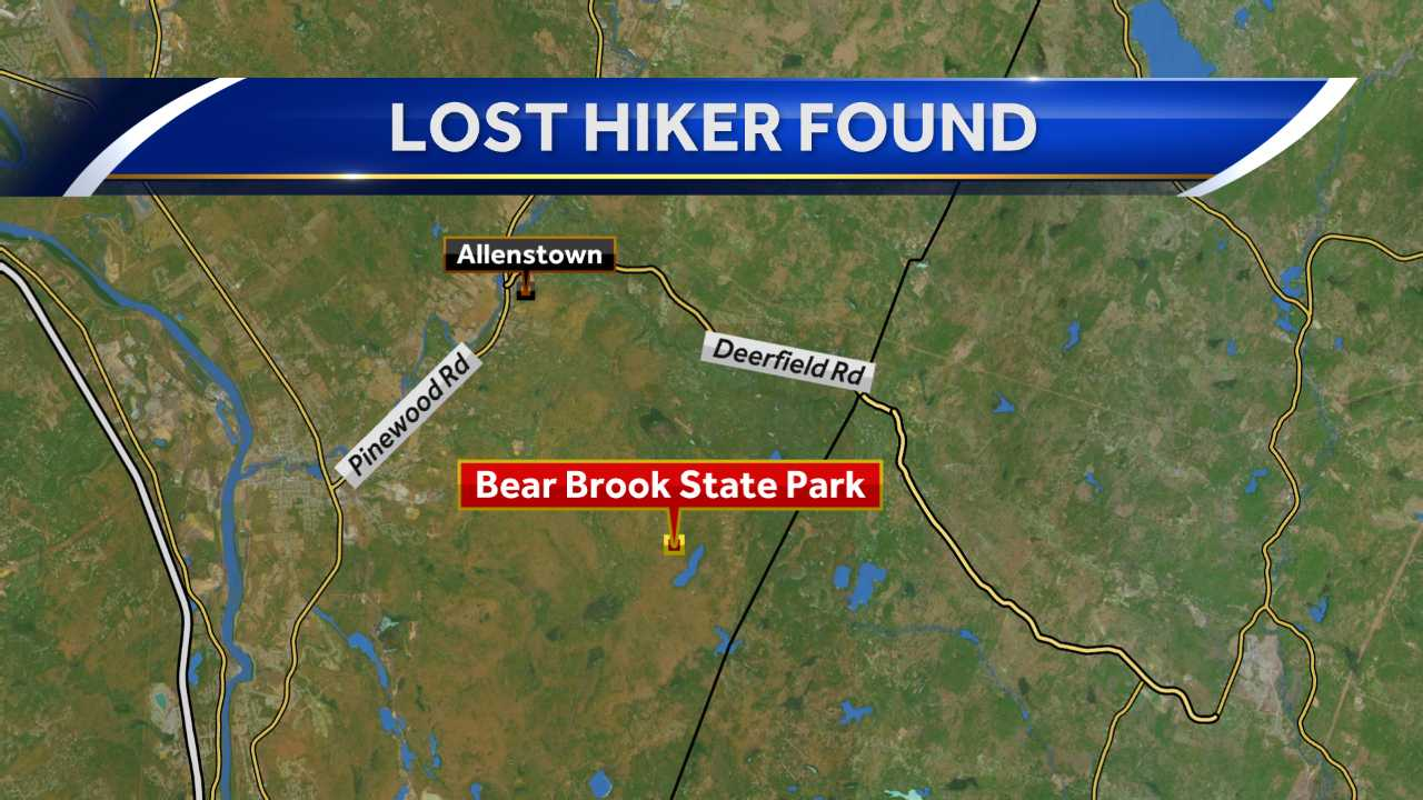 Hiker recovering after spending night alone in the woods