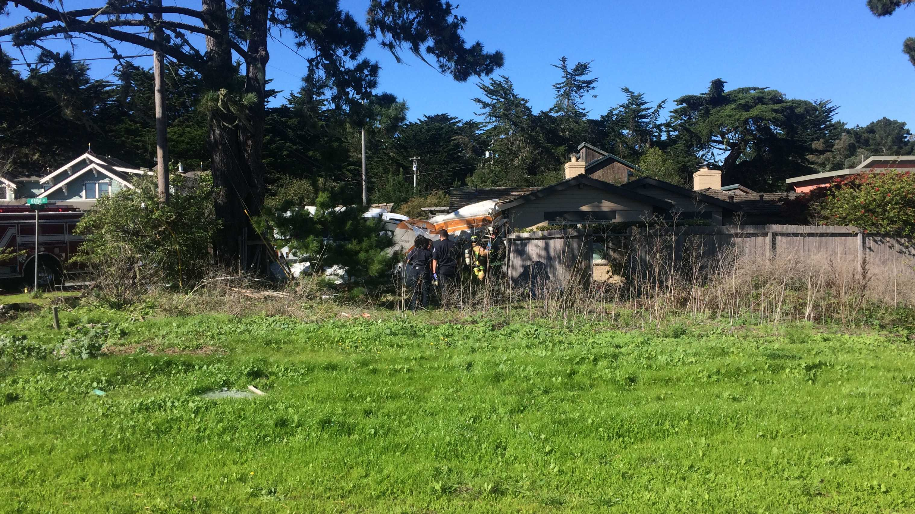Moss Beach Plane Crash