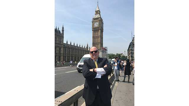 Gov. Larry Hogan in London