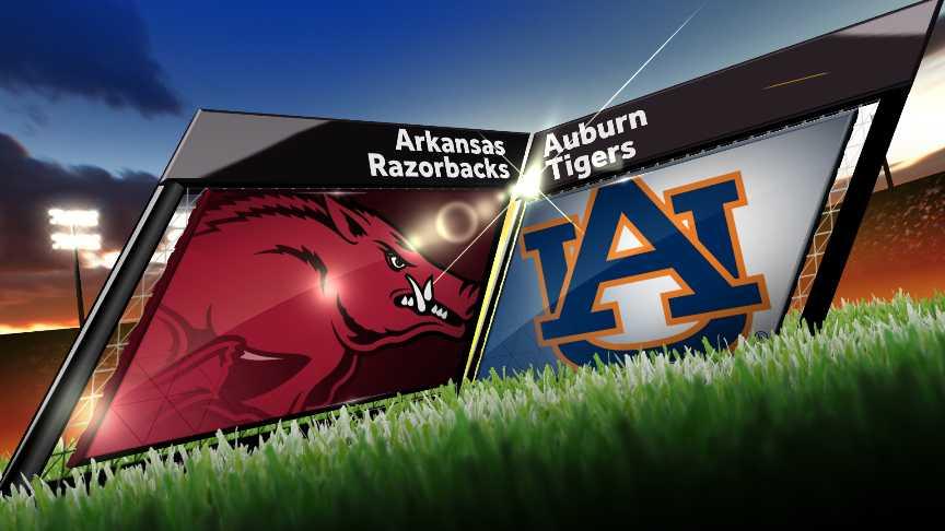 Arkansas Razorbacks vs Auburn Tigers
